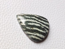 Load image into Gallery viewer, 29x22x6 mm, Natural Chrysotile Gemstone Pear Shape