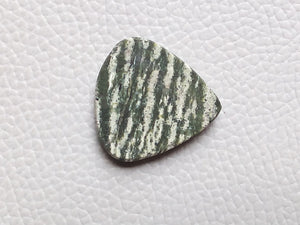 24x24x4 mm, Natural Chrysotile Gemstone Pear Shape