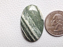 Load image into Gallery viewer, 34x21x4 mm, Natural Chrysotile Gemstone Oval Shape