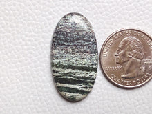 Load image into Gallery viewer, 35x19x5 mm, Natural Chrysotile Gemstone Oval Shape