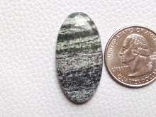 Load image into Gallery viewer, 35x18x5 mm, Natural Chrysotile Gemstone Oval Shape
