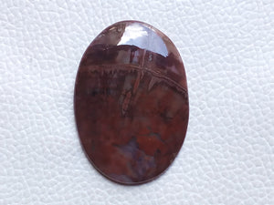 42x30mm, Natural  Forest Fire  Jasper Oval Shape
