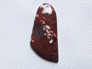48x22mm, Natural Forest Fire Jasper Free form Shape