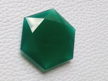 Load image into Gallery viewer, 25x25x6mm,  Calibrated  Green Onyx  Octagon  Shape