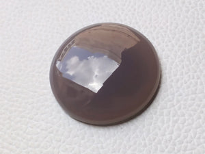 33x33x8mm,  Natural  Onyx Round Shape