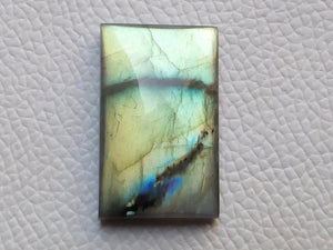 33x20x8mm, Natural  Labradorite  Rectangular Shape