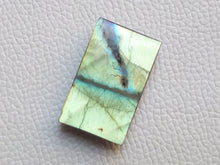 Load image into Gallery viewer, 33x20x8mm, Natural  Labradorite  Rectangular Shape