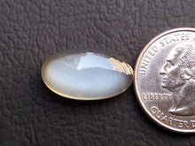 Load image into Gallery viewer, 20x11x6mm, Natural  Grey  Moonstone Oval Shape