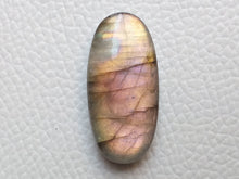 Load image into Gallery viewer, 31x15x7 mm,Natural Labradorite Cabochon Gemstone Oval Shape