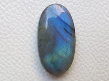 Load image into Gallery viewer, 32x17x7 mm,Natural Labradorite Cabochon Gemstone Oval Shape