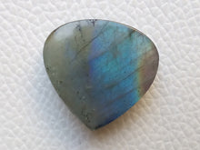 Load image into Gallery viewer, 24x23x8 mm,Natural Labradorite Cabochon Gemstone Pear Shape