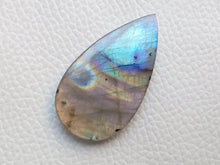 Load image into Gallery viewer, 39x22x5 mm,Natural Labradorite Cabochon Gemstone Teardrop Shape
