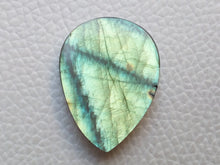 Load image into Gallery viewer, 28x21x6 mm,Natural Labradorite Cabochon Gemstone Teardrop Shape