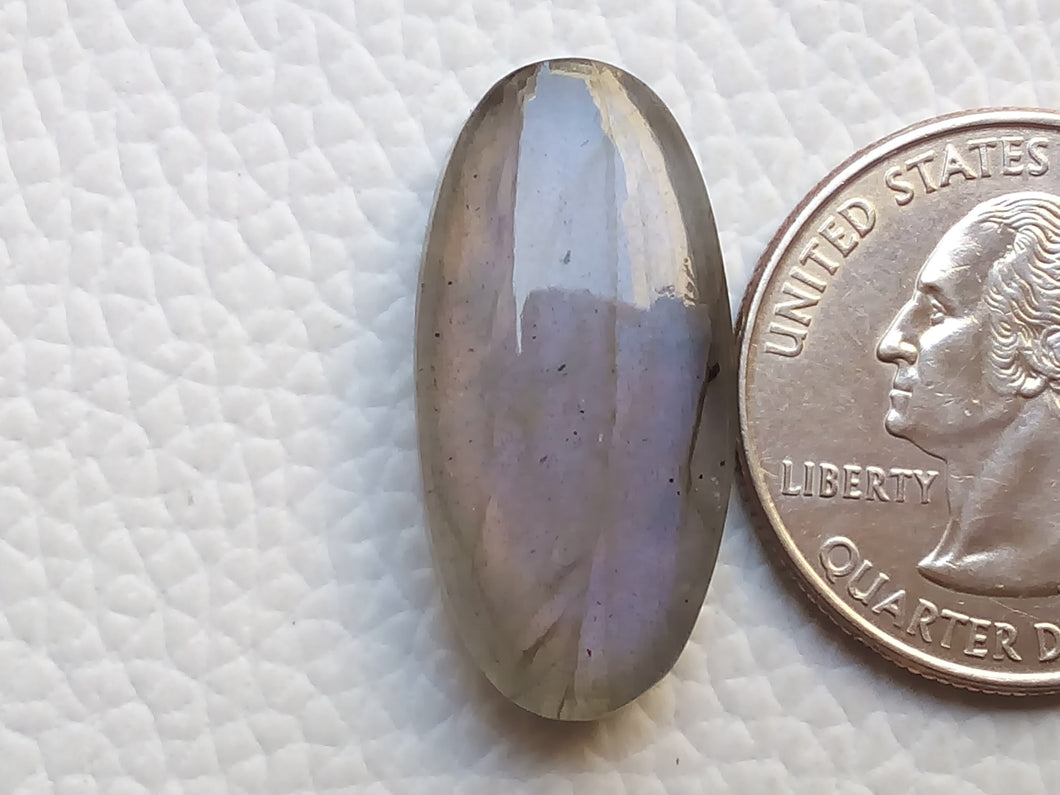 26x13x6 mm,Natural Labradorite Cabochon Gemstone Oval Shape