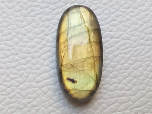 29x14x7 mm,Natural Labradorite Cabochon Gemstone Oval Shape