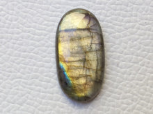 Load image into Gallery viewer, 29x15x5 mm,Natural Labradorite Cabochon Gemstone Oval Shape