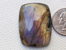 Load image into Gallery viewer, 38x29x7 mm,Natural Labradorite Cabochon Gemstone Rectangular Shape