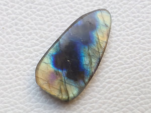 35x18x6 mm,Natural Labradorite Slab Gemstone Teardrop Shape