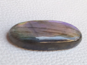 38x17x8 mm,Natural Labradorite Cabochon Gemstone Oval Shape