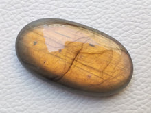 Load image into Gallery viewer, 44x25x9 mm,Natural Labradorite Cabochon Gemstone Oval Shape