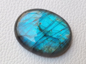 34x27x7 mm,Bluel Labradorite Cabochon Gemstone Oval Shape