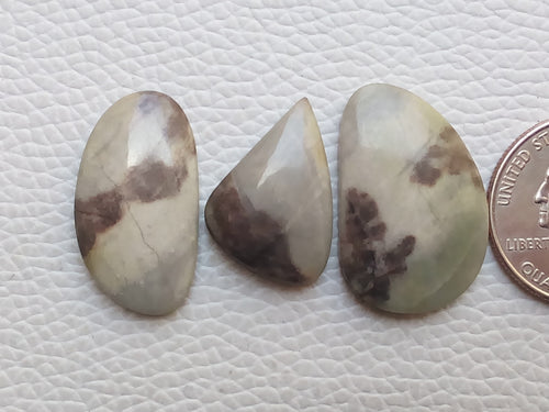 3 Pieces Lomiya Jasper Mix Shape