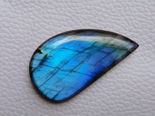 Load image into Gallery viewer, 41x23x7mm, Natural Labradorite Cabochon Gemstone Freeform Shape
