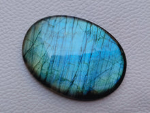 Load image into Gallery viewer, 51x37x8mm, Natural Labradorite Cabochon Gemstone Oval Shape