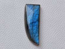 Load image into Gallery viewer, 45x18x9mm, Natural Labradorite Cabochon Gemstone Freeform Shape
