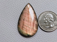 Load image into Gallery viewer, 39x23x6mm, Labradorite Cabochon  Wholesale Gemstone Teardrop Shape