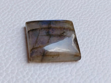 Load image into Gallery viewer, 22x20x7mm, Natural Gemstone Labradorite Cabochon Square Shape