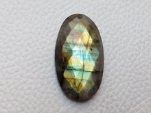 Load image into Gallery viewer, 29x16x7mm, Labradorite Faceted Oval Shape