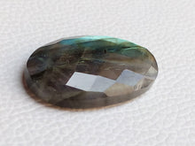 Load image into Gallery viewer, 37x22x7mm,  Gemstone Labradorite Oval Shape
