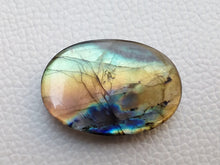 Load image into Gallery viewer, 35x24x7mm,  Gemstone Labradorite Oval Shape