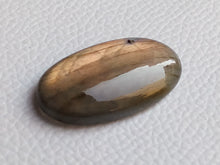 Load image into Gallery viewer, 36x19x8mm,   Labradorite Gemstone Cabochon Oval Shape