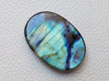 Load image into Gallery viewer, 35x24x7mm,   Labradorite Gemstone Cabochon Oval Shape