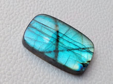 Load image into Gallery viewer, 33x21x7mm,   Labradorite Gemstone Cabochon Rectangle Shape