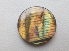 Load image into Gallery viewer, 34x33x8mm,   Labradorite Gemstone Cabochon Round Shape