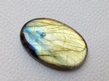 Load image into Gallery viewer, 36x23x7mm,   Labradorite Gemstone Cabochon Oval Shape