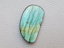 Load image into Gallery viewer, 38x21x5mm, Blue Gemstone Labradorite Freeform Shape