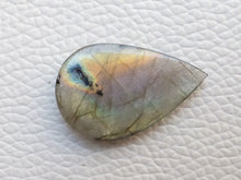 Load image into Gallery viewer, 28x18x4mm, Thin Nice  Labradorite Gemstone Cabochon teardrop Shape