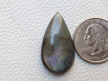 Load image into Gallery viewer, 31x17x7mm,  Nice  Labradorite Gemstone Cabochon Teardrop Shape