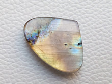 Load image into Gallery viewer, 21x28x6mm,Natural Blue Labradorite Gemstone Cabochon  Teardrop Shape