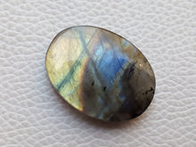 Load image into Gallery viewer, 29x22x6mm,  Unique Labradorite Pendant Gemstone Oval Shape