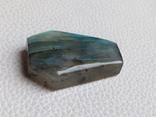 Load image into Gallery viewer, 33x23x8mm, Blue Full Flashy Labradorite Pendant Gemstone Coffin Shape