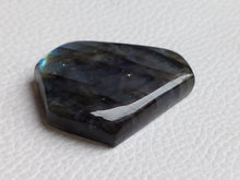 Load image into Gallery viewer, AAA Blue  Labradorite Cabochon Gemstone 36x28x8mm, Coffin Shape