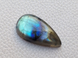 radiant 3 Shaded Labradorite Gemstone 30x16x6mm Healing Gemstone teardrop Shape