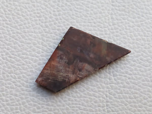 40x22x4 mm forest fire Jasper Freeform Shape