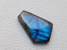 Load image into Gallery viewer, splendid Blue Labradorite Cabochon  27x20x6mm Healing Gemstone Coffin Shape