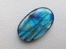 Load image into Gallery viewer, cunning Blue Labradorite Gemstone 34x21x7mm Healing Gemstone Oval Shape